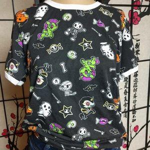 Tokidoki Halloween allover print 👕 t-shirt XLarge